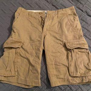 Old Navy cargo shorts. Size 28.